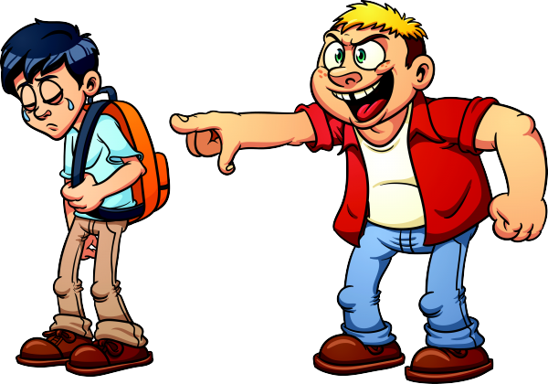Who are the victims. Bullying clipart deliberately png black and white library