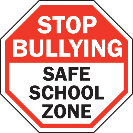 Pin by team schools. Bullying clipart safe picture black and white