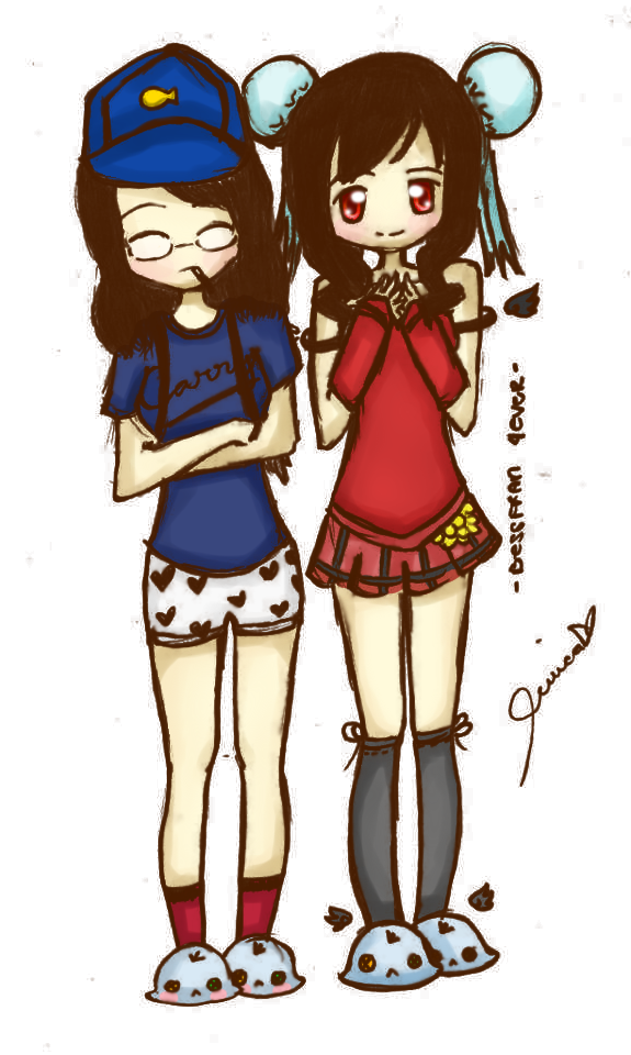 Karma drawing bff. Me and my by