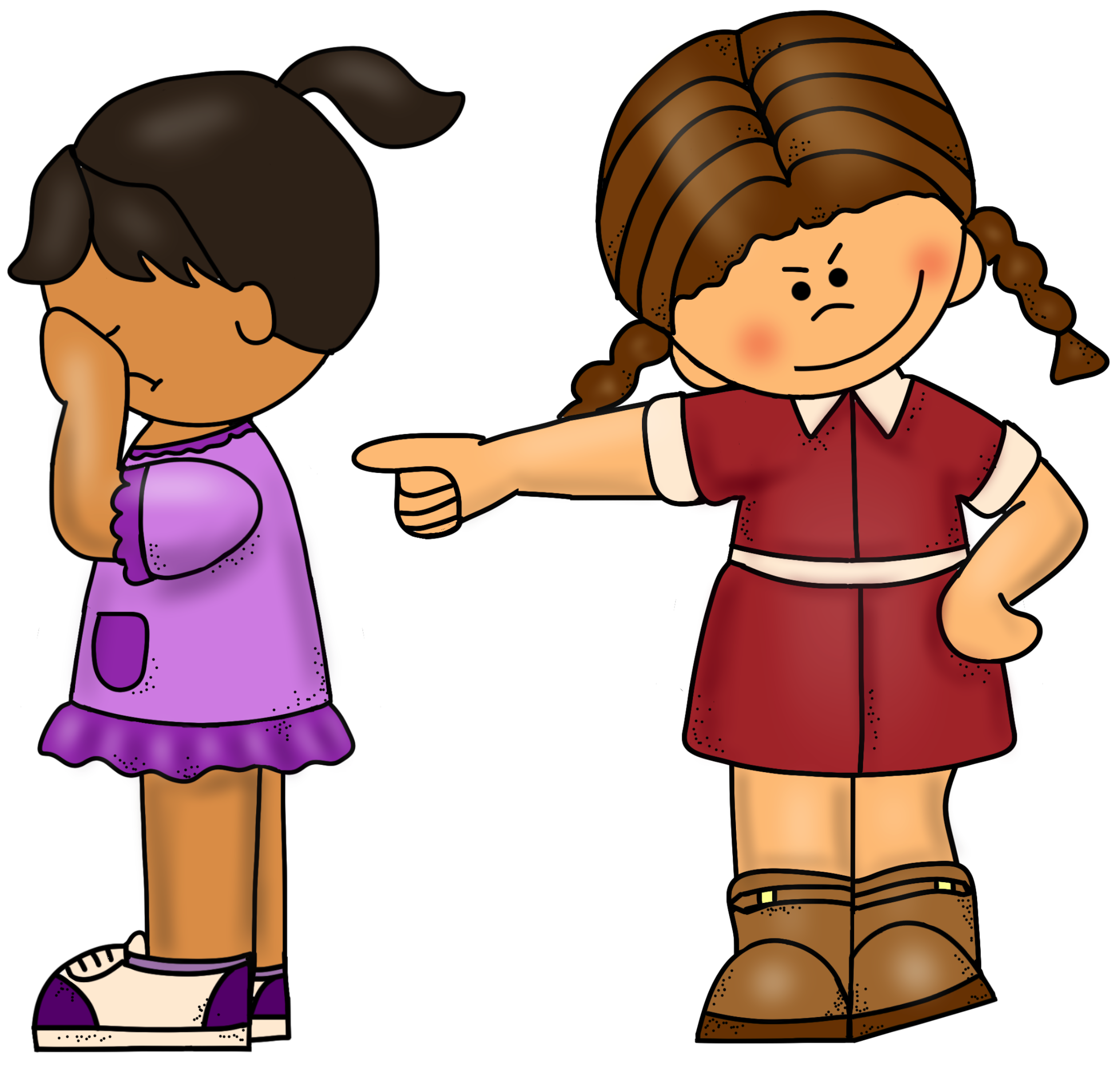 Bully clipart free download. Bullying drawing kid png