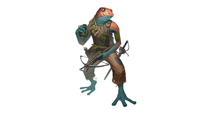 Bullywug. Variants for dungeons dragons