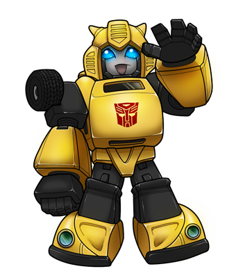 Chevy drawing bumble bee. Bumblebee afterimages of ghostfire