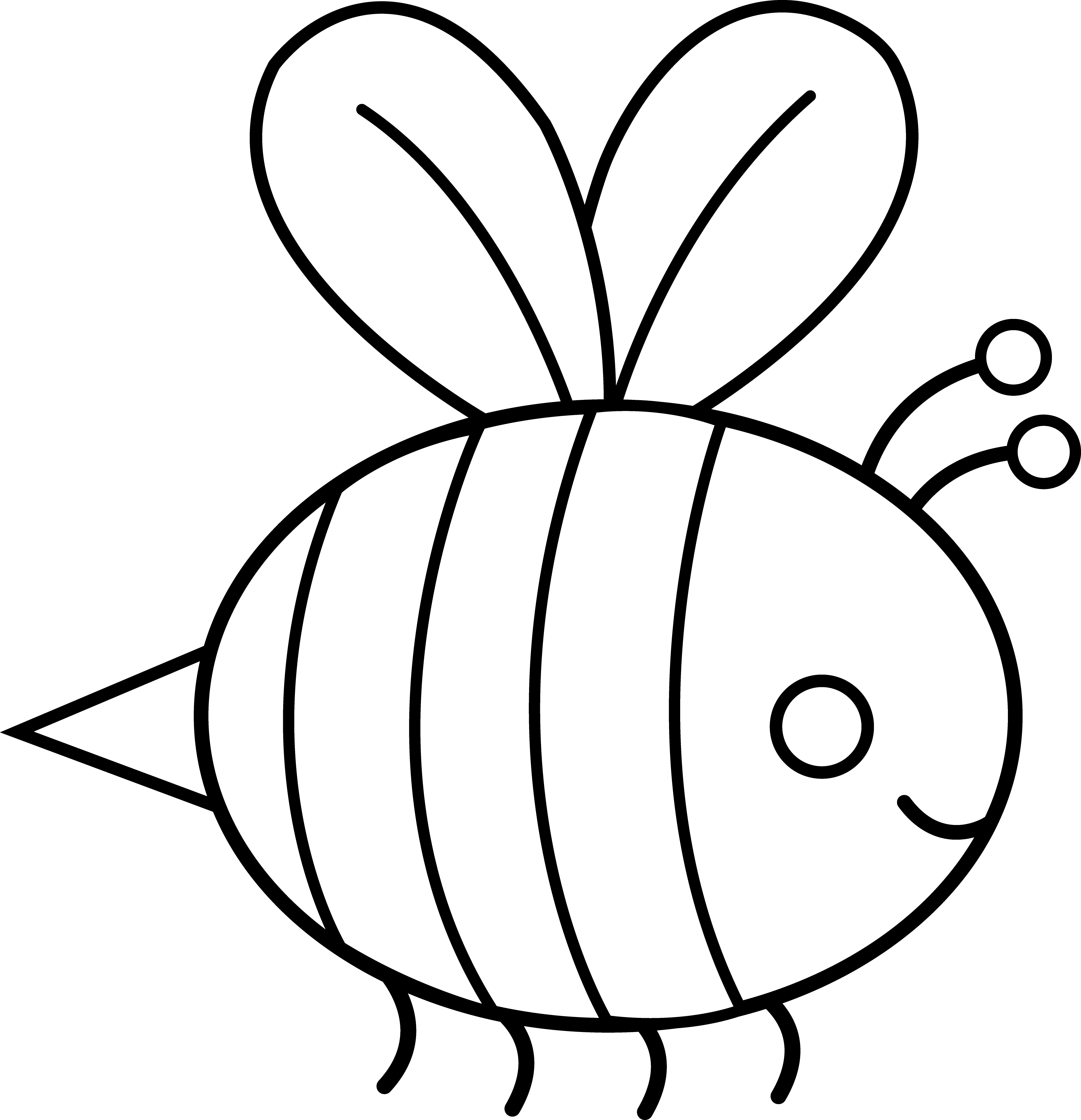 Gucci vector bee. Free bumble outline download