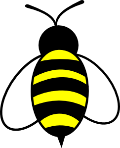 Bumble clipart bee drawing. Clip art s knees