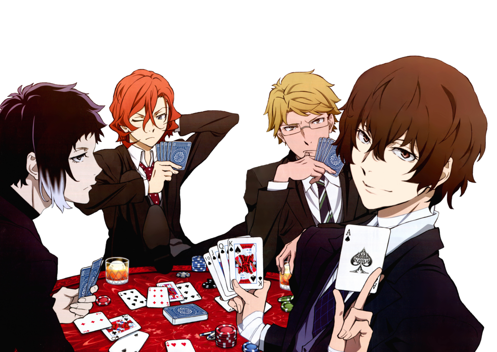 Bungou stray dogs png. Render by kuroofan on