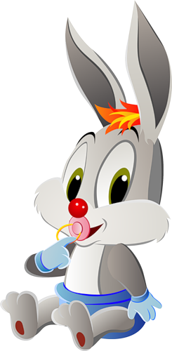 Bunny cartoon png. Baby free picture clipart