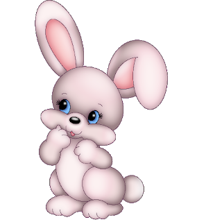 Bunny clipart cute bunny. Rabbit cartoon animal images