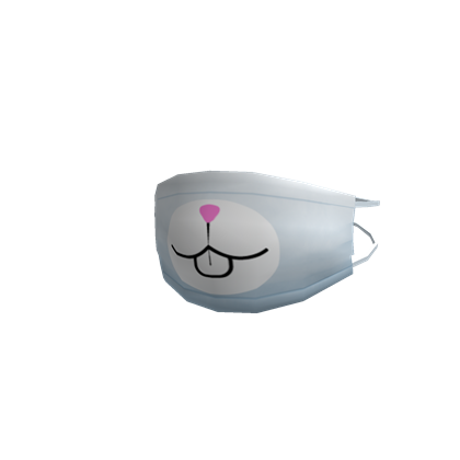 Bunny nose png. Image face mask roblox