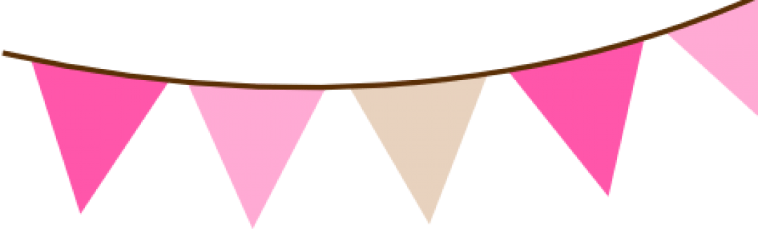 Bunting banner png. Cropped e f a