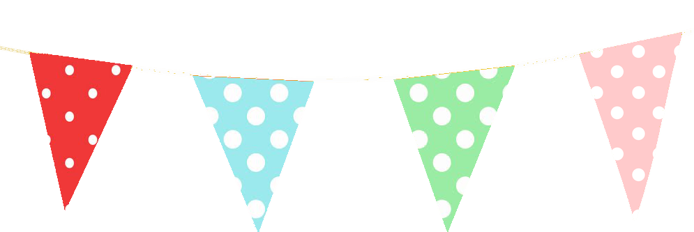 Bunting banner png. Free mini printables tutorial