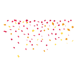 Bunting vector confetti. Celebration background download falling
