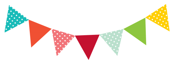 Bunting vector lace. Summer holiday activity days