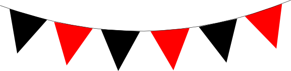 Bunting vector red. Png transparent images pluspng