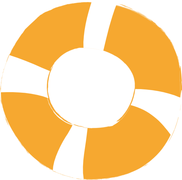 Buoy vector. Free online swimming circle
