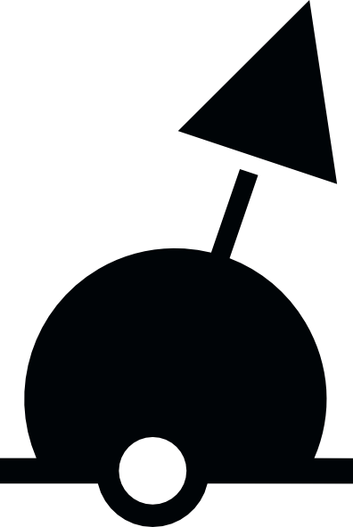 Drawing sphere lighted. Buoy clipart clipground clip