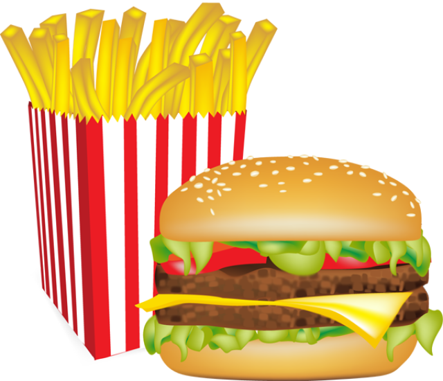 Cute hamburger and fries png. Graphic design pinterest french