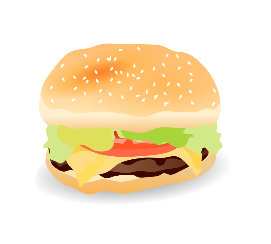 Vector sandwich cheese. Free burger pictures download