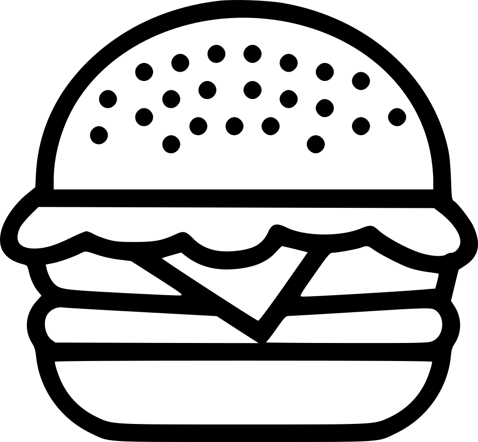 hamburger svg junk food
