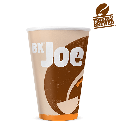 Burger king drink png. Bk joe decaf coffee