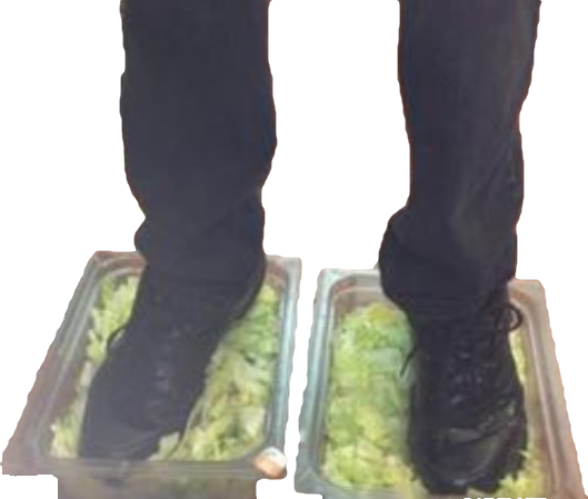 R n meme stickers. Burger king foot lettuce png clip black and white download