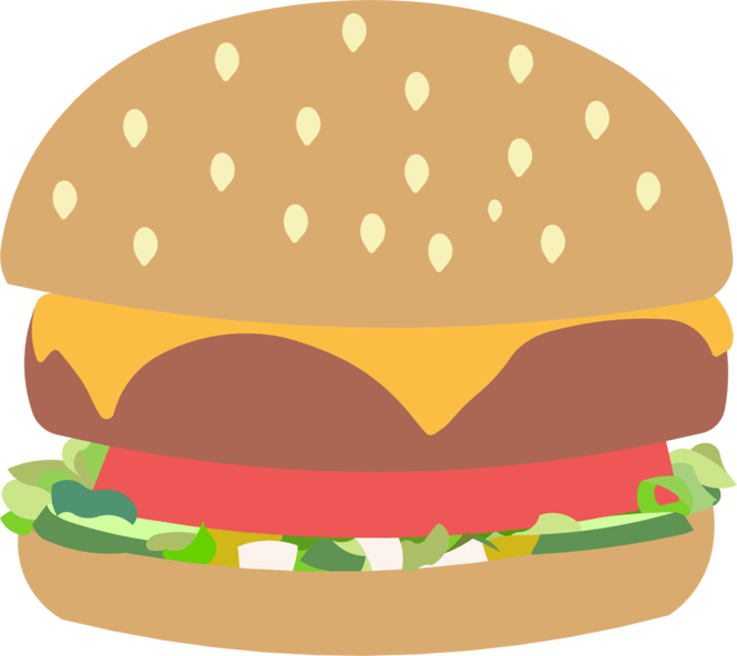 Burger vector png. The best in an