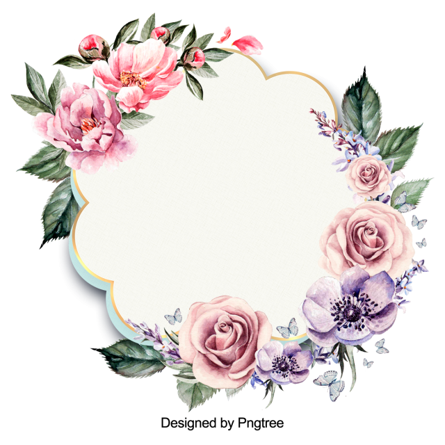 Burgundy flower png. Wreath red blooming pink