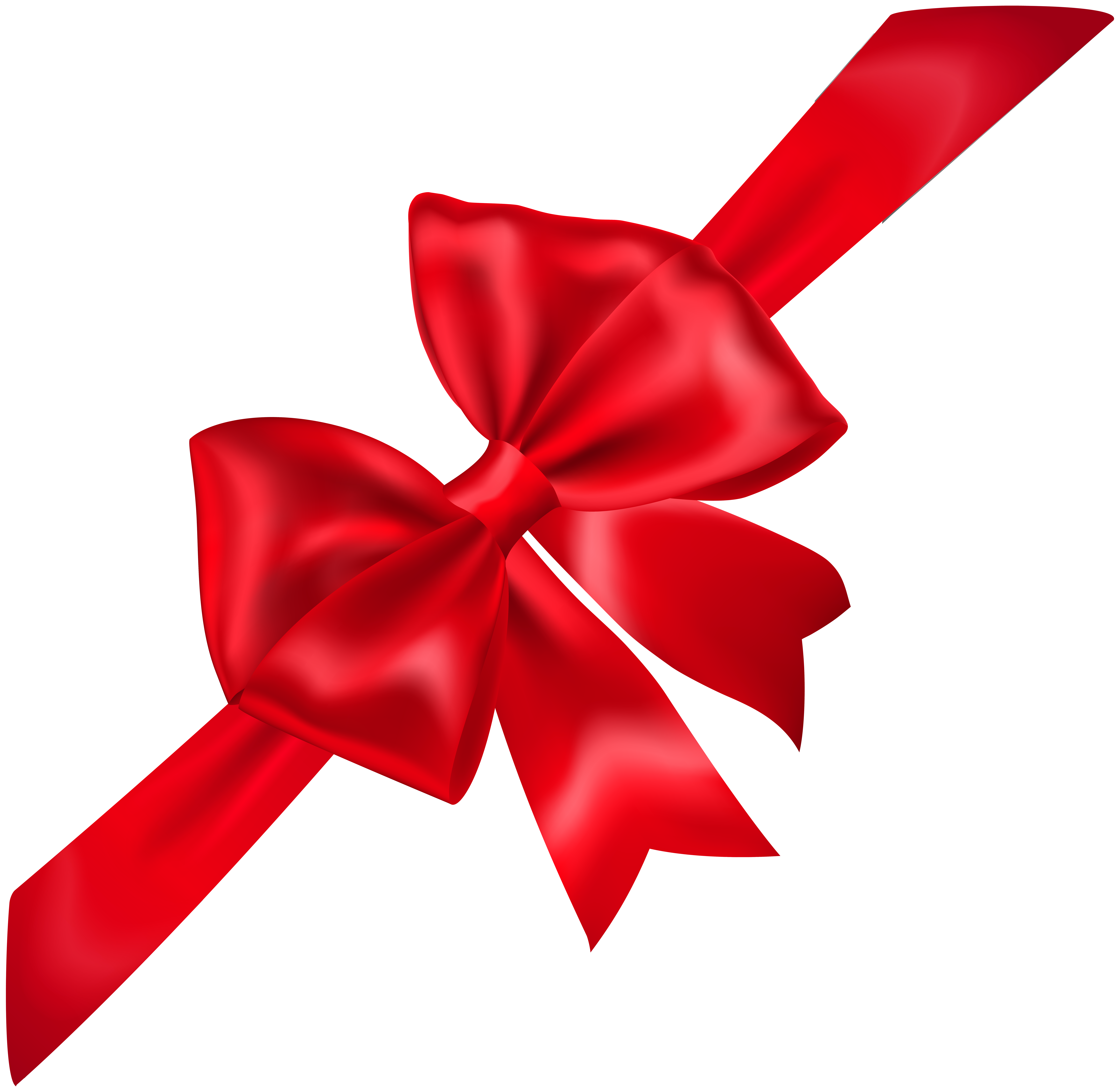 Celebration ribbon png. Red bow transparent image