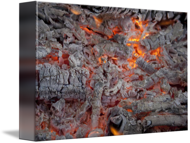Burning embers png. By oleksandr levin