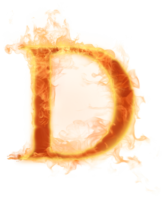 Burning letter a png. D hd transparent images
