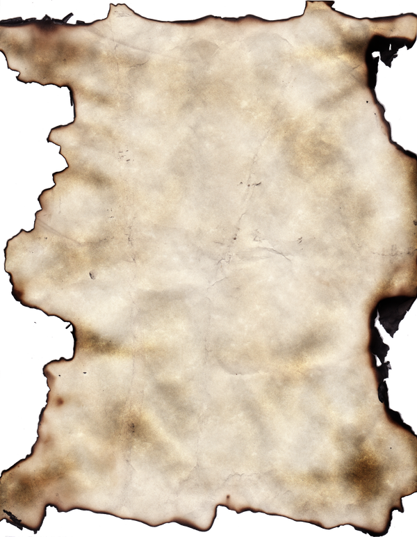 Burnt paper background png. Texture by dawildguns on