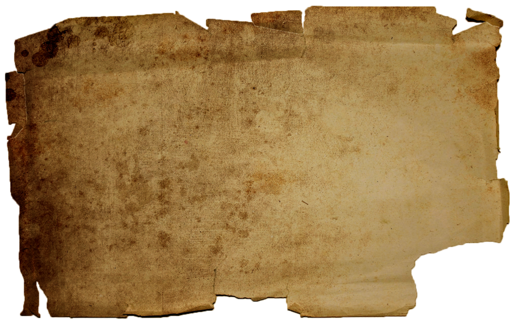 Burnt paper background png. Torn texture by moonlight