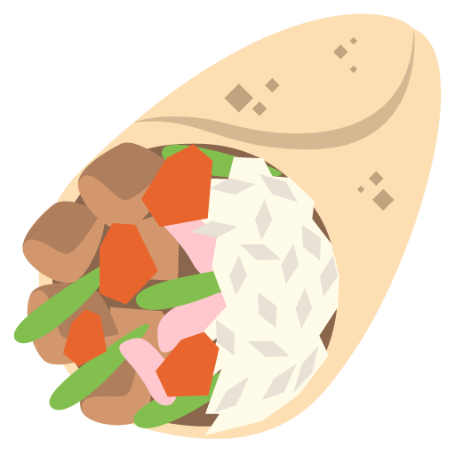 Mexican emoji png. Burrito for facebook email