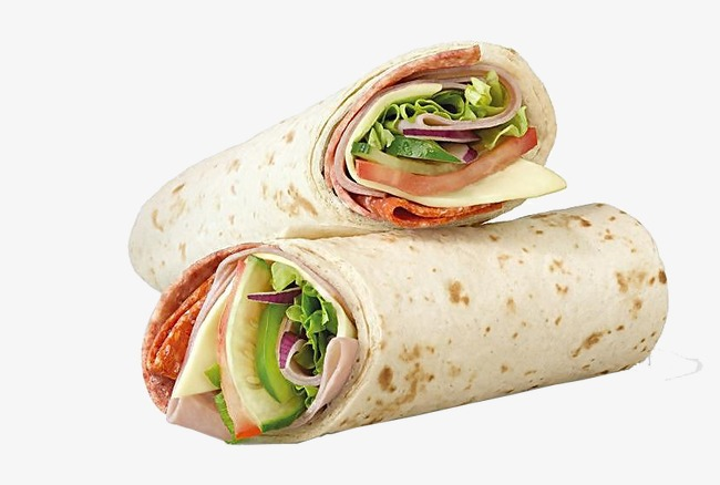 Burrito clipart sandwich wrap. Food png image and
