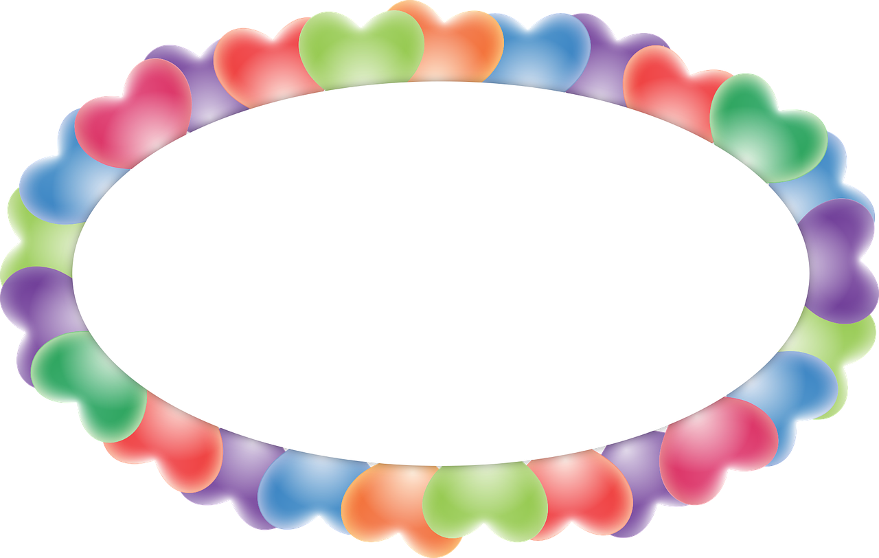 Burst balloon png. Vacation oval heart frame