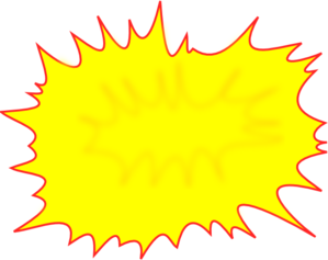Burst clipart comic. Clip art at clker