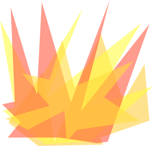 Burst graphic png. Simple cartoon explosion clipart