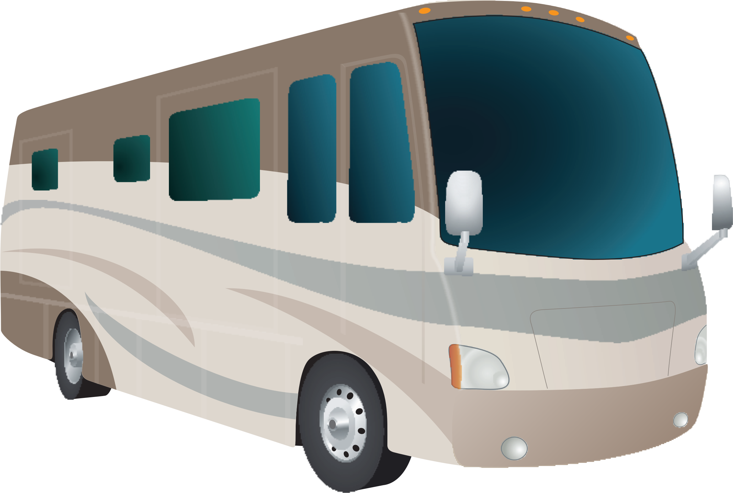 Bus cartoon png. Motorhome icons free and