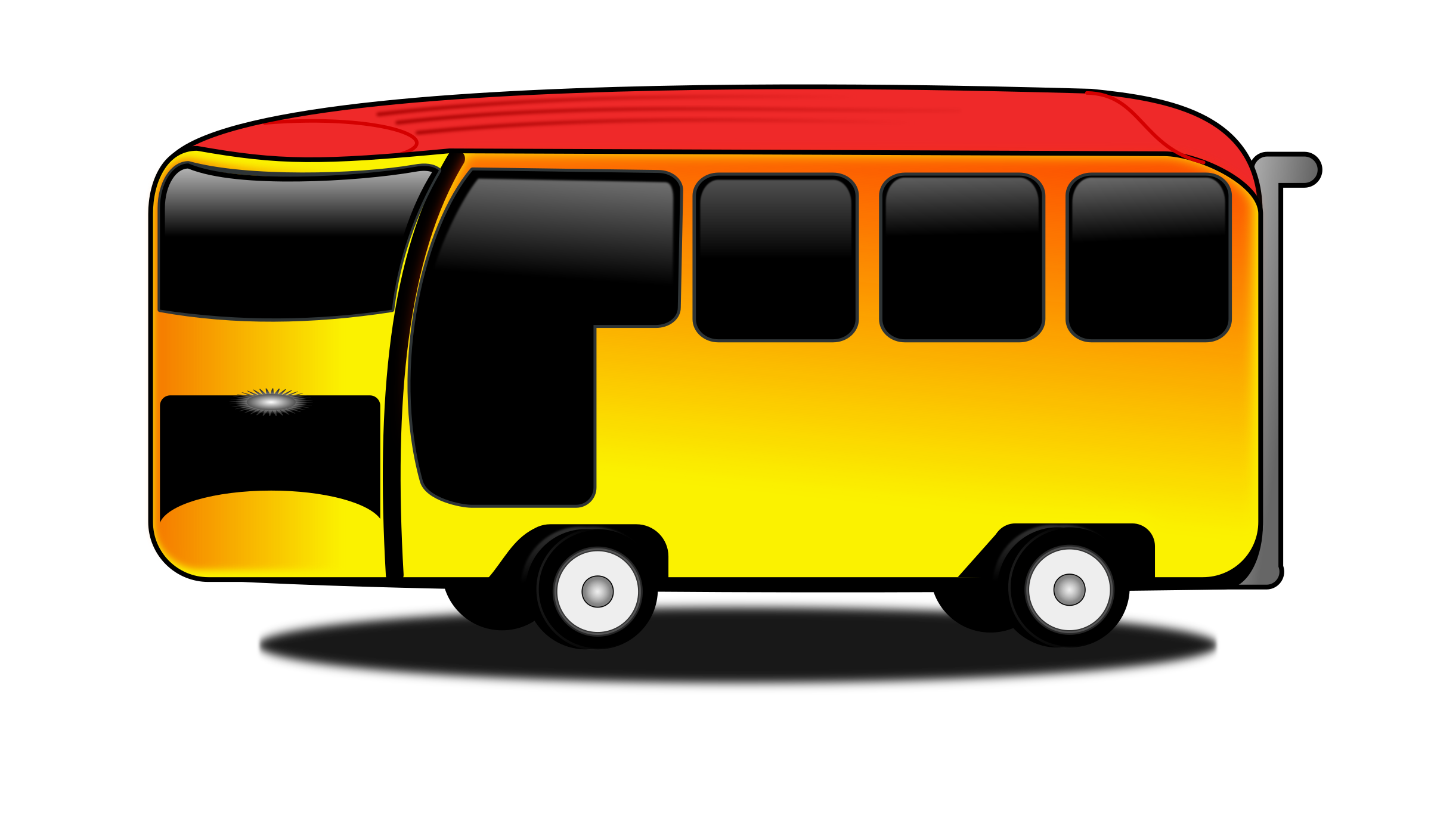 Bus cartoon png. Icons free and downloads
