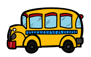 Free school borders and. Bus clipart knight jpg transparent library