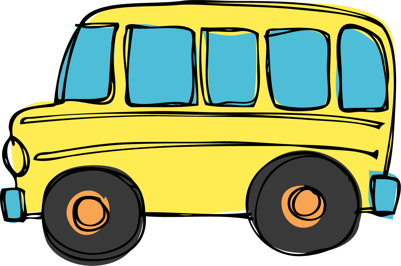 Bus drawing png. Collection of school