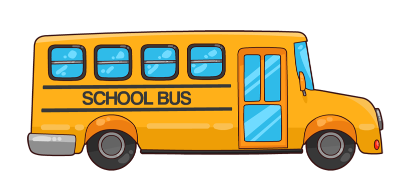 Bus png cartoon. Collection of school