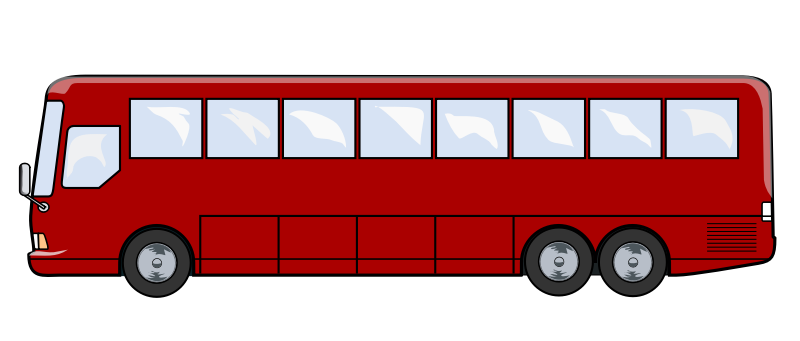 Bus png cartoon. Free to use clipart