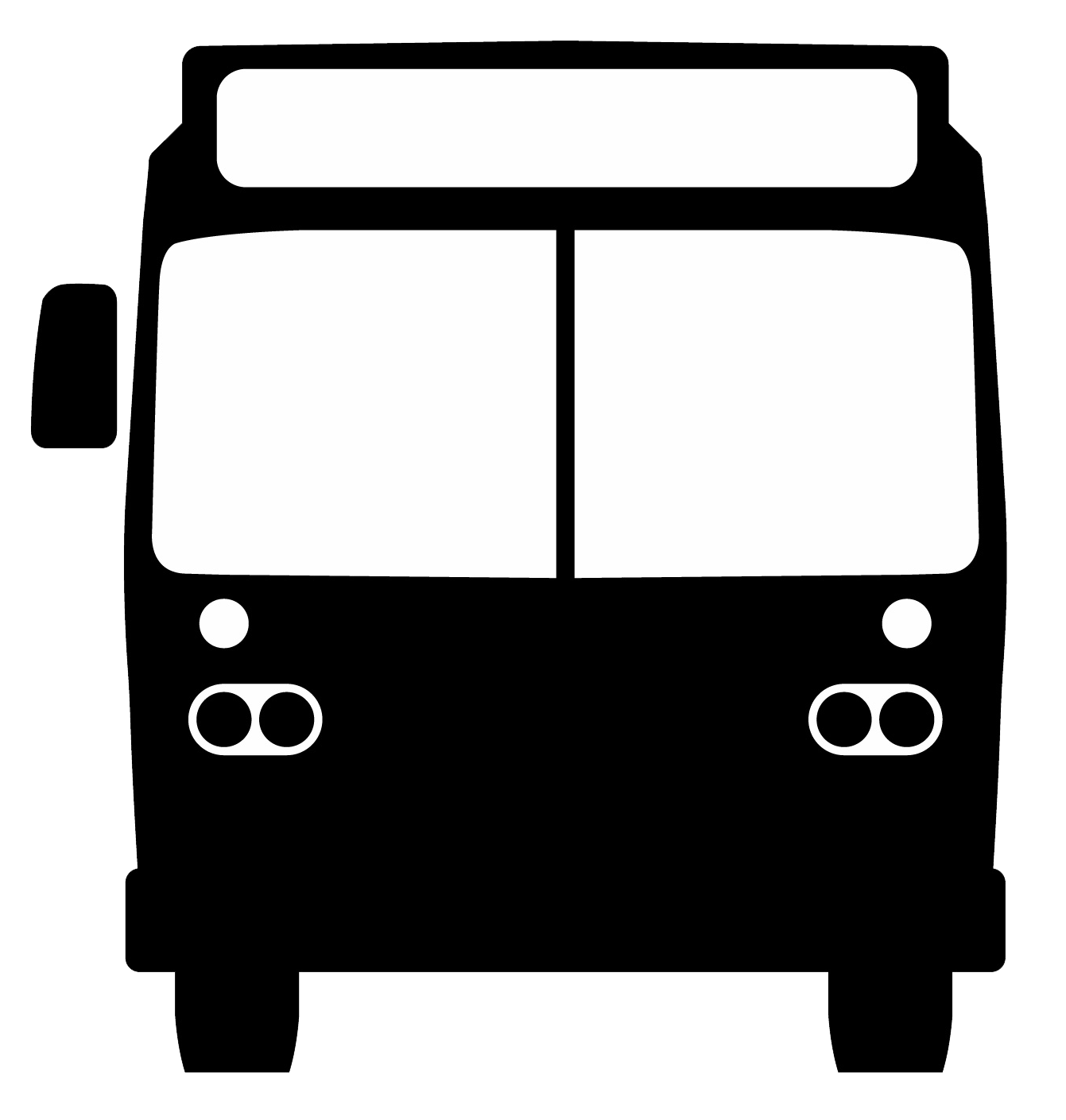 Bus png front. Marketing toolkit tools graphics