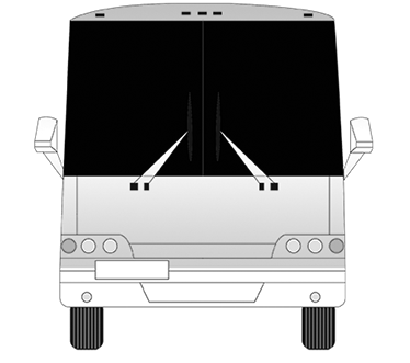 Bus png front. Prevost xlii b