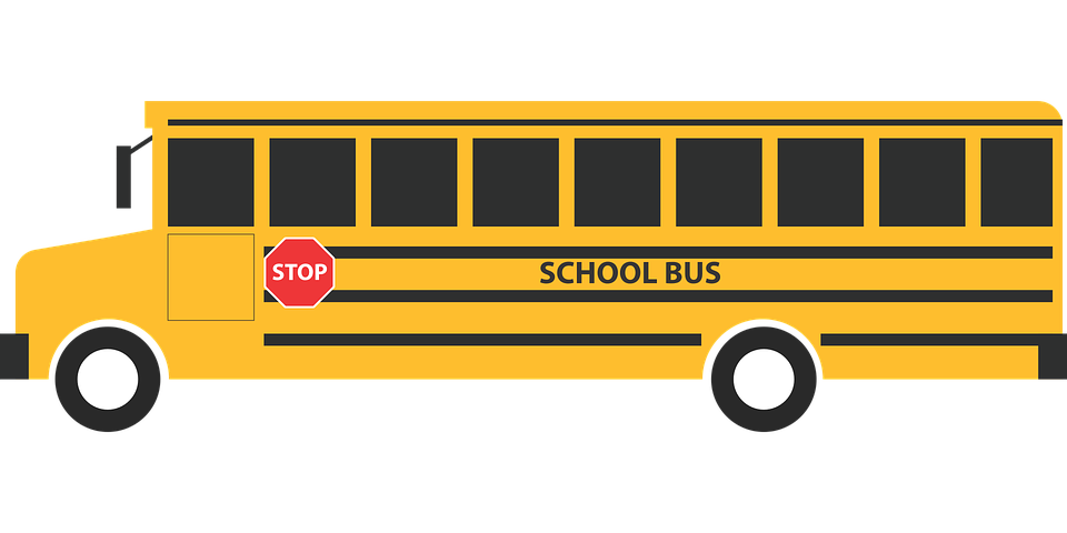 Bus side png. Safety around the bend