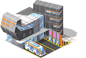 Bus station png. Image level sw cityville