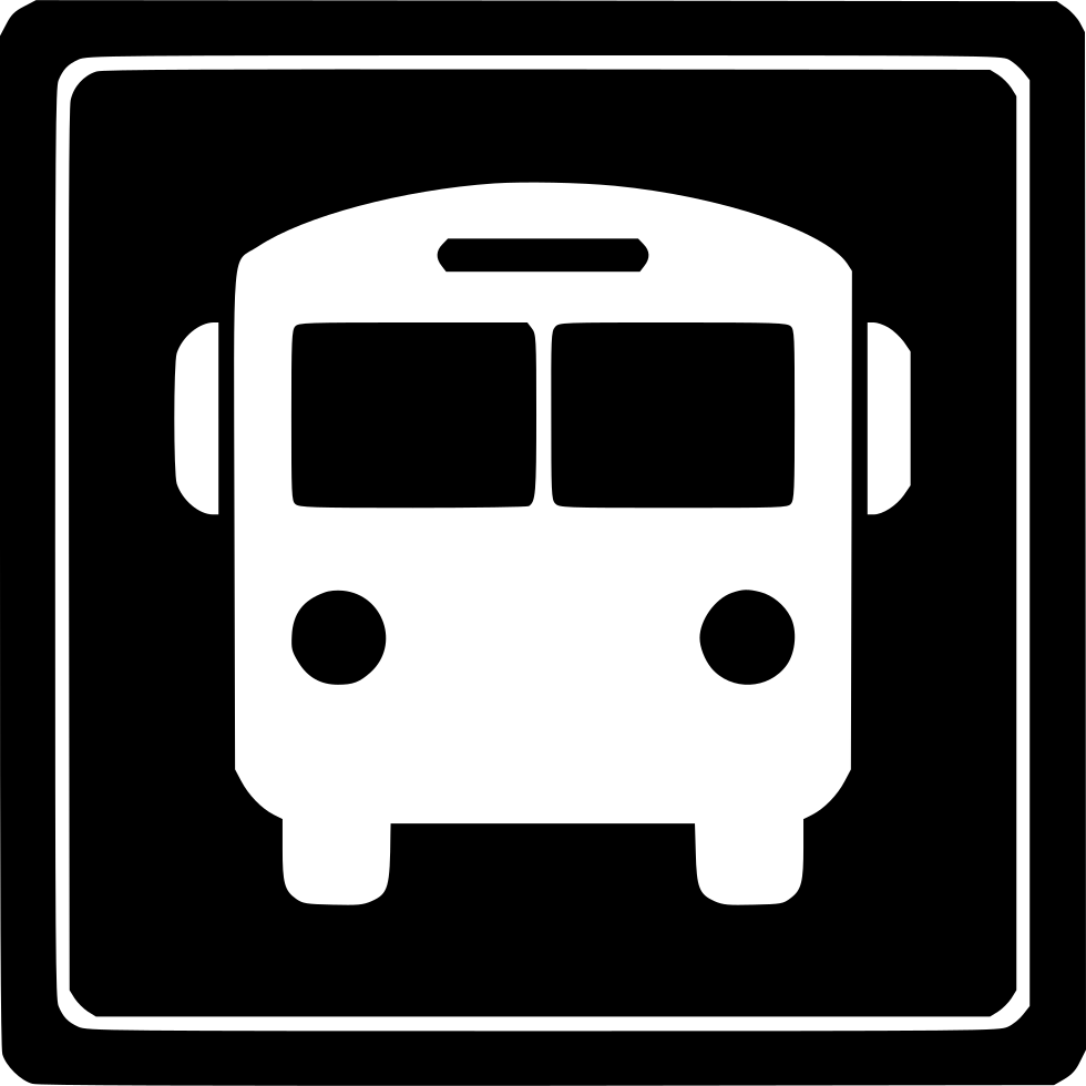 Bus station png. Svg icon free download