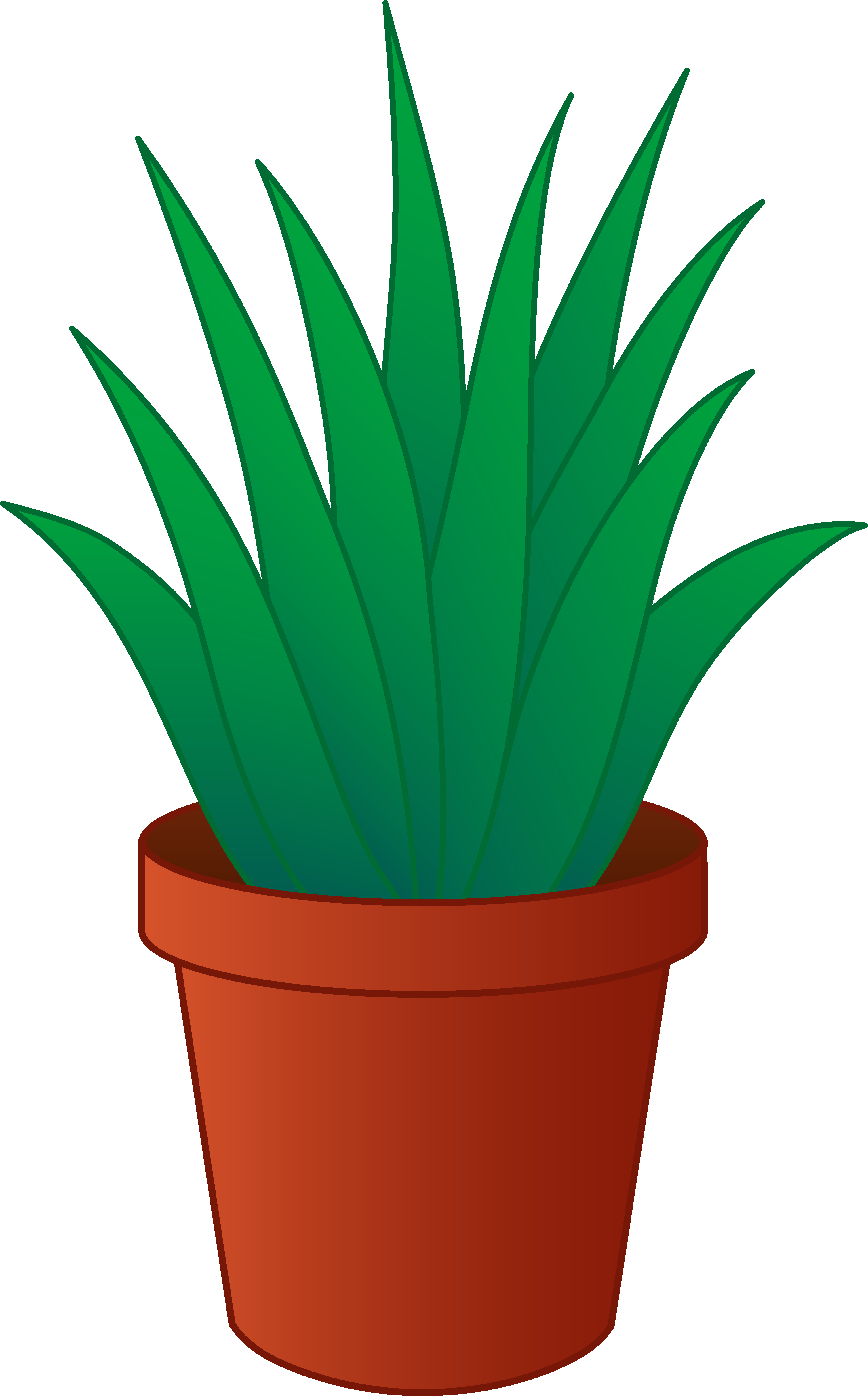 vase vector house plant