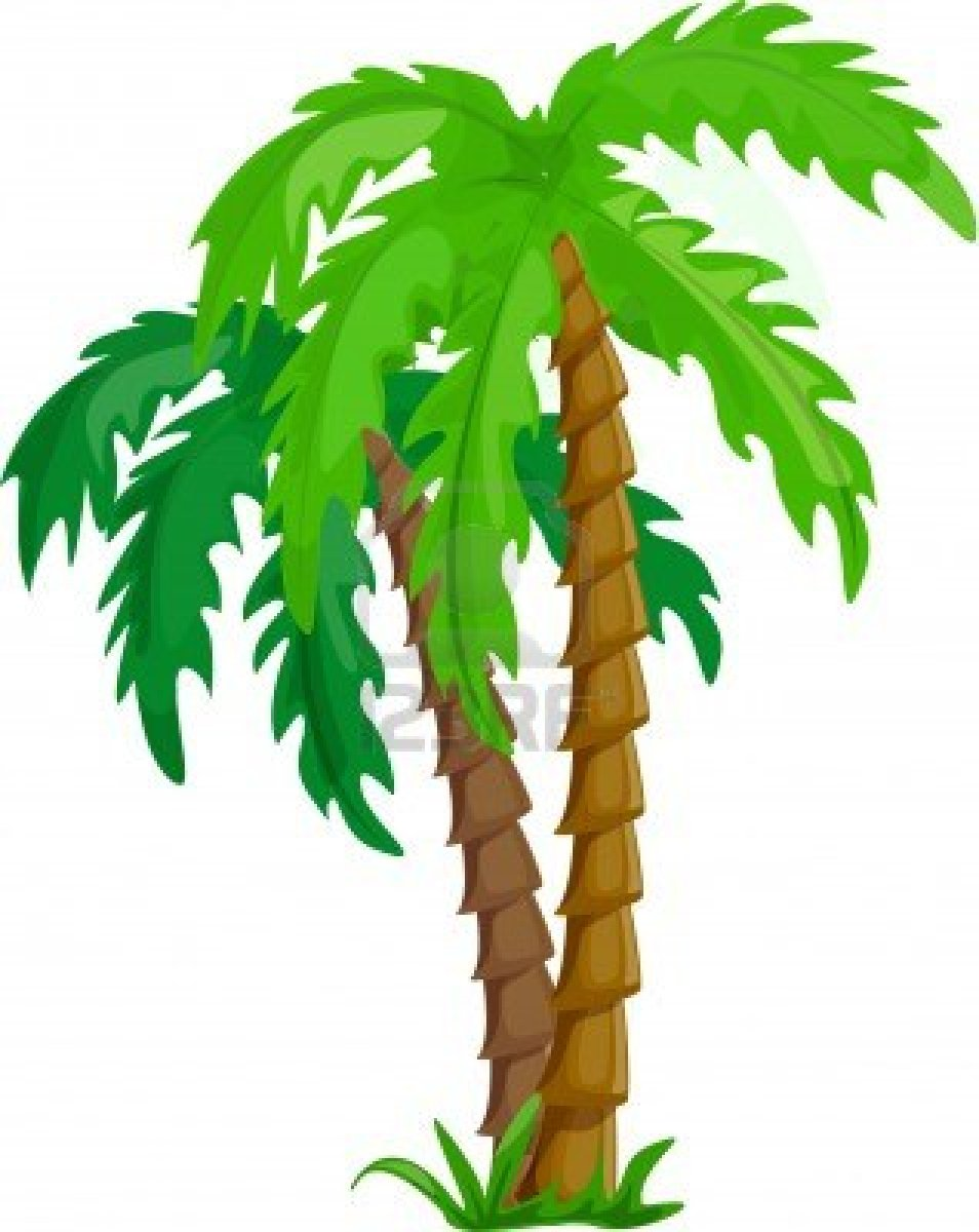 Bush clipart rainforest plant. Forest trees at getdrawings