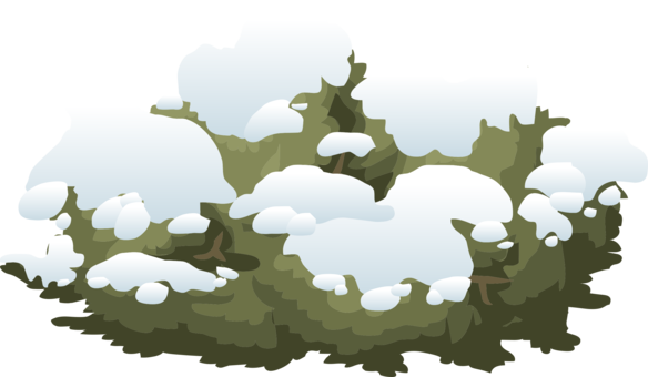 Bush clipart winter. Snowflake computer icons symbol